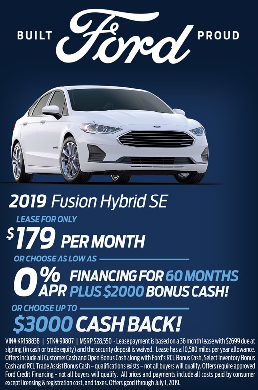 June Fusion Hybrid Special