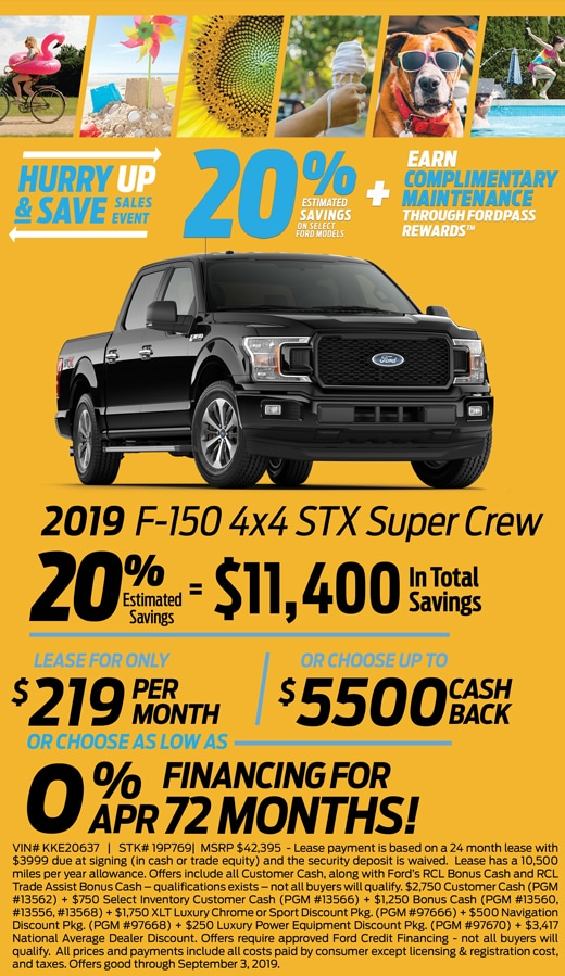 August F-150 Special