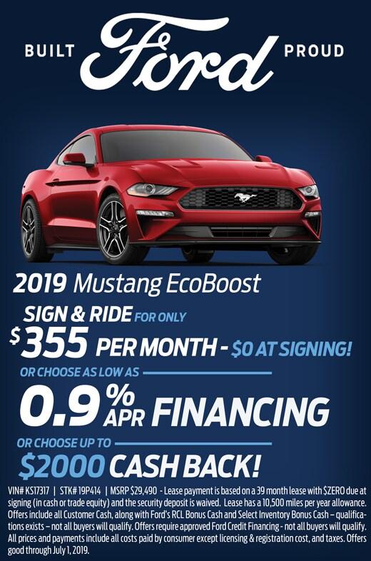 June Mustang Special