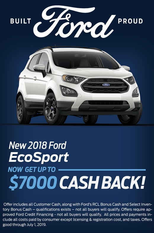 2018 Ford EcoSport Special