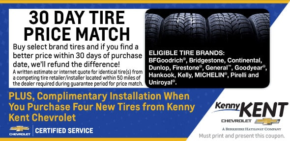 Tires Coupon Evansville IN | Chevy Service Center | New Tire Prices