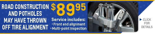 Tire Savings Alignment Coupon, Evansville