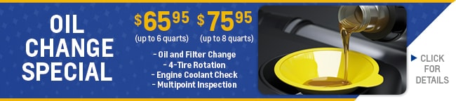 Oil Change Coupon, Evansville