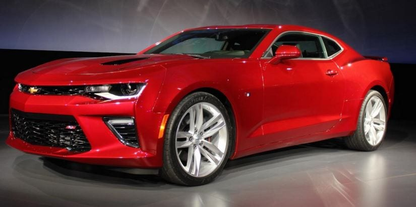 2016 Chevy Camaro Interior Design Earns Top Award