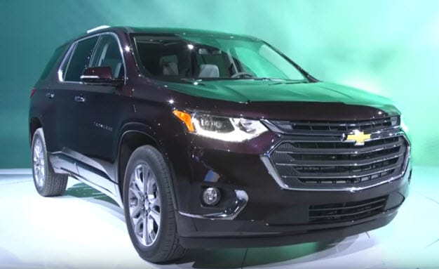 2018 Chevy Traverse Reveal