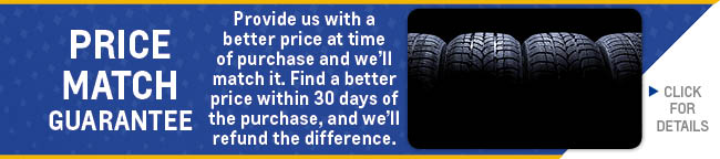 Tire Price Match Coupon, Evansville