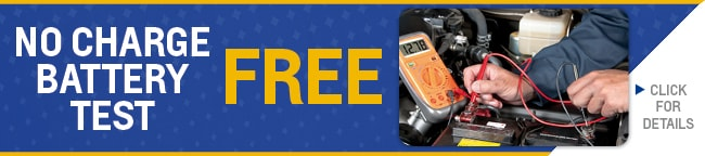 Free Battery Test Coupon, Evansville