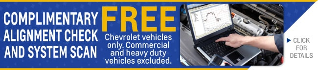Complimentary Alignment Check Coupon, Evansville