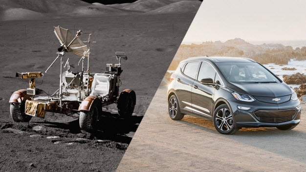2017 Chevy Bolt & Lunar Rover