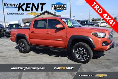 Used Toyota Tacoma Trucks For Sale >> Used 2016 Toyota Tacoma Trd Offroad For Sale In Evansville In