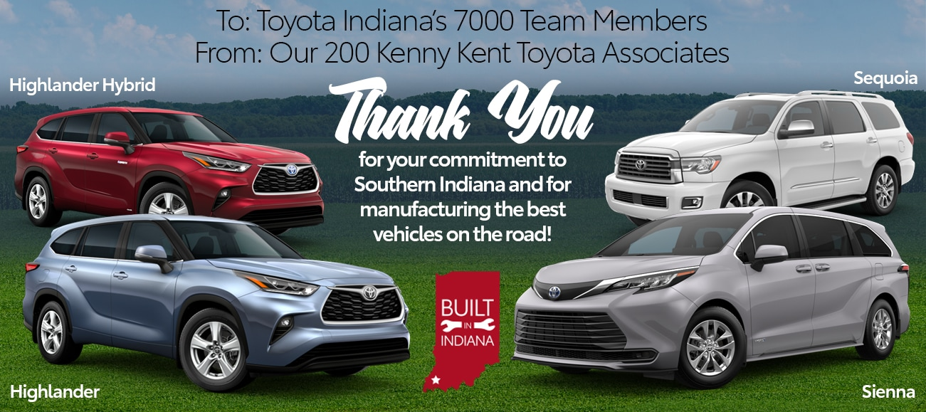 Thank You Toyota Team