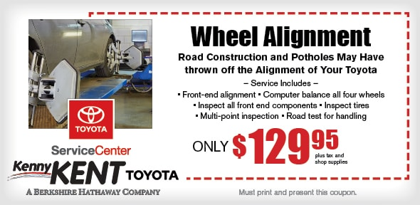 Front End Alignment Coupons >> Wheel Alignment Coupon Evansville Toyota Service Center Service