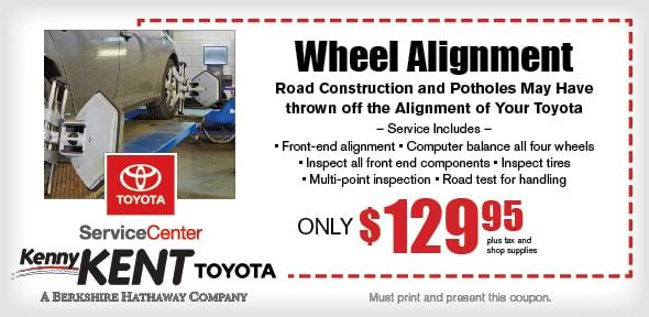 Wheel Alignment Coupon