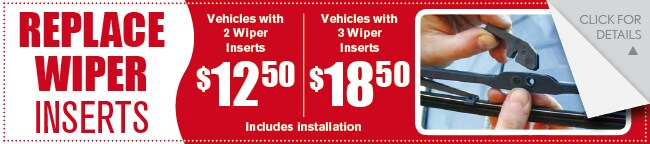Windshield Wipers Coupon, Evansville IN