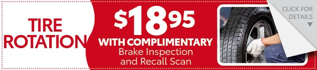 Tire Rotation Coupon, Evansville