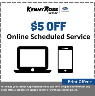 Schedule Online & Save $5