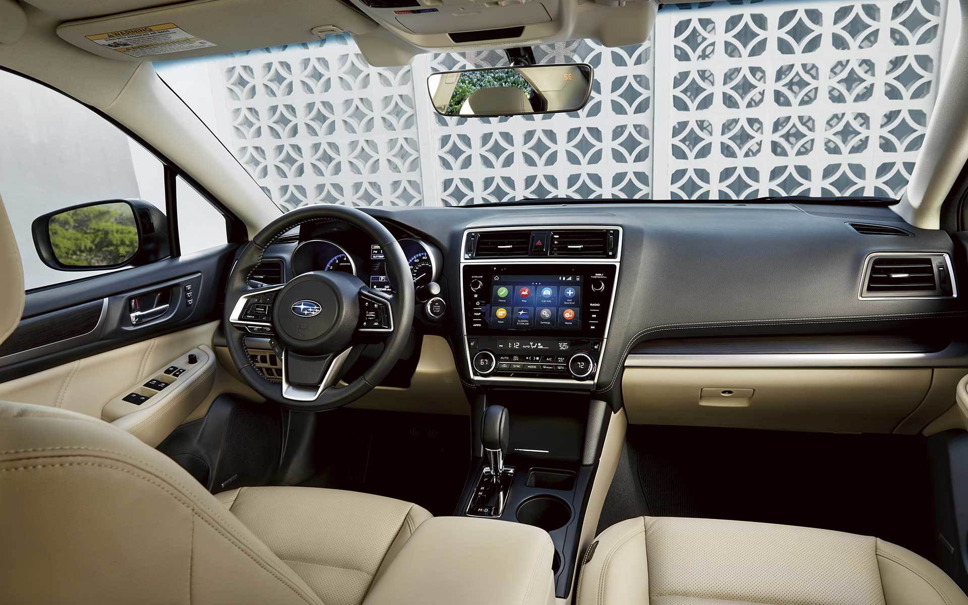 2020 Subaru Legacy Interior & Technology