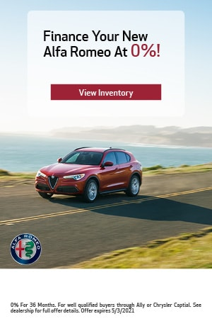 Finance Your New Alfa Romeo At 0%!