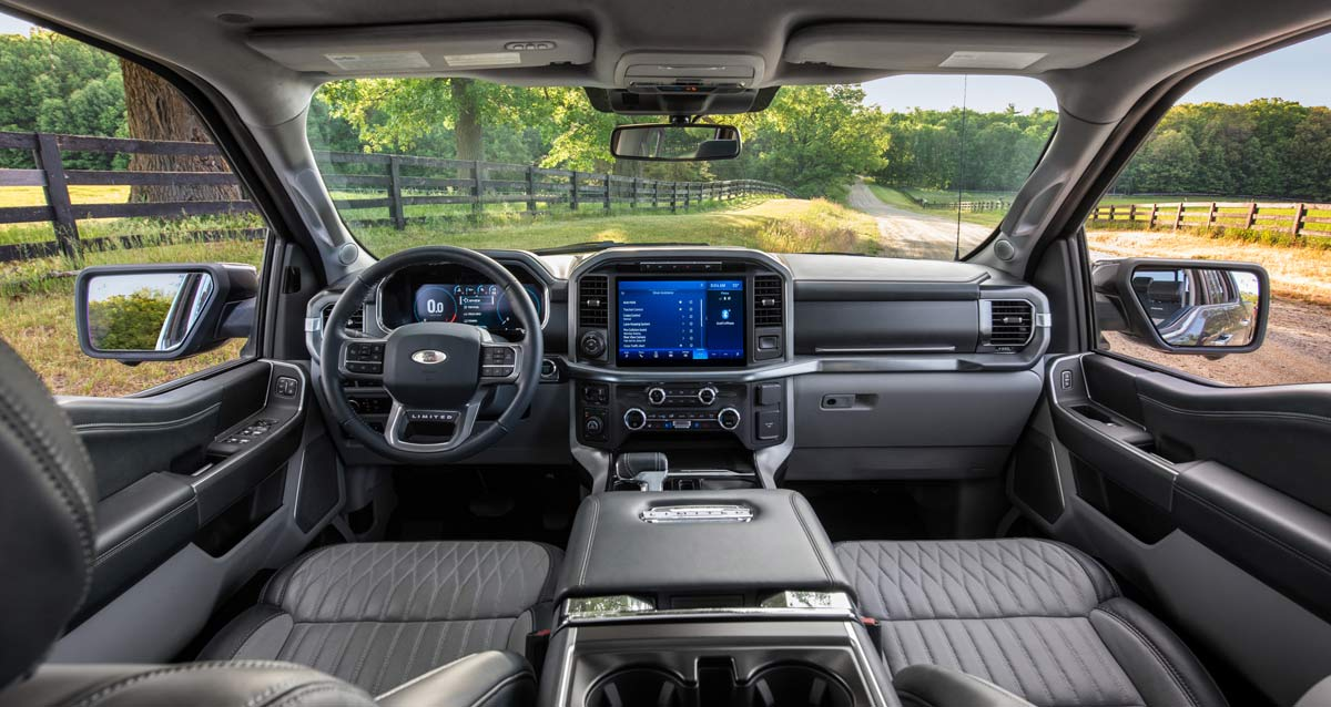 Ford F-150 Interior and Technology