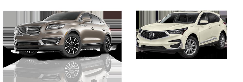 2019 Lincoln Nautilus Vs Acura Rdx Luxury Suv Comparison