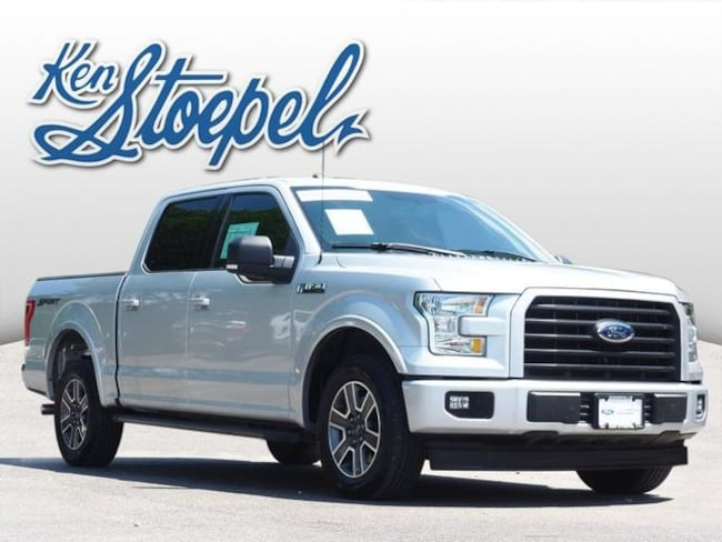 Certified Pre-Owned 2017 Ford F-150 XLT Truck 1FTEW1CF3HKC04611 For Sale Kerrville, TX