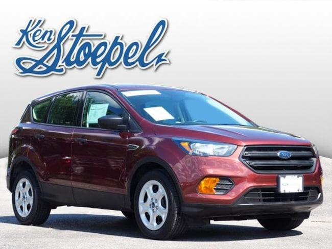 Certified Pre-Owned 2018 Ford Escape S SUV 1FMCU0F72JUA09407 For Sale Kerrville, TX