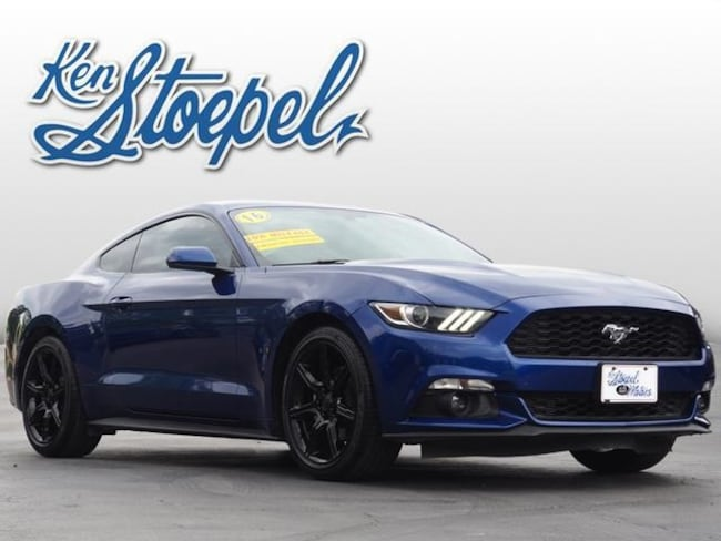 used 2016 Ford Mustang Ecoboost Coupe 1FA6P8TH9G5260227 For Sale Kerrville, TX