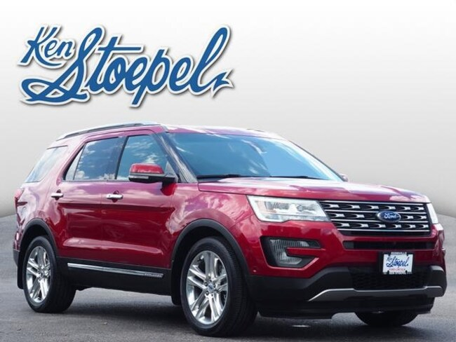 Certified Pre-Owned 2016 Ford Explorer Limited SUV 1FM5K7FH2GGB26413 For Sale Kerrville, TX