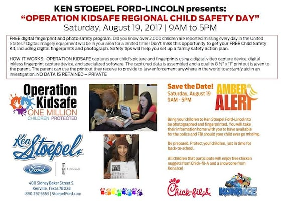 ken stoepel ford community involvement tx ford dealer ken stoepel ford community involvement
