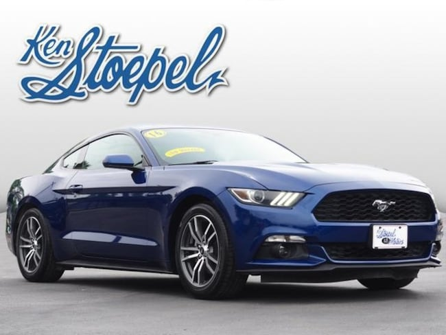 used 2016 Ford Mustang Ecoboost Coupe 1FA6P8TH6G5256524 For Sale Kerrville, TX
