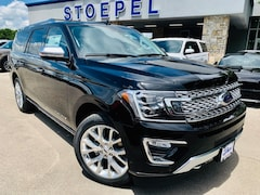 New 2019 Ford Expedition Max Platinum SUV in Kerrville, TX