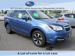 Certified Pre-Owned 2017 Subaru Forester Premium 2.5i Premium CVT for sale in Pleasantville, NJ