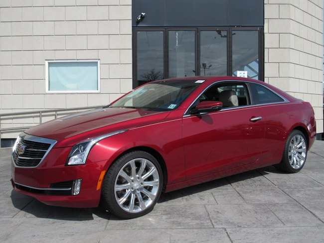 Certified Pre-Owned 2016 Cadillac ATS Coupe Premium Collection AWD Coupe for sale in Pleasantville, NJ
