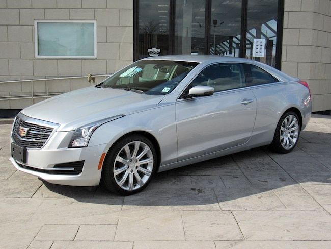Certified Pre-Owned 2016 Cadillac ATS Coupe Standard RWD Coupe for sale in Pleasantville, NJ