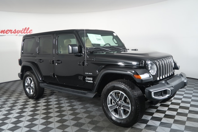 New 2018 Jeep Wrangler JL Unlimited Sahara SUV for Sale ...