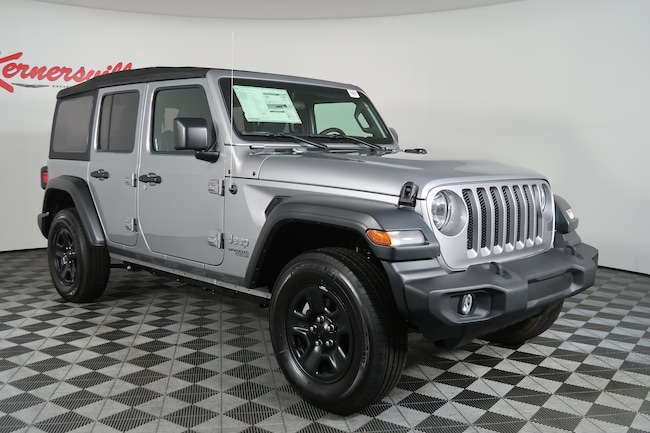 New 2018 Jeep Wrangler JL Unlimited Sport SUV for Sale ...