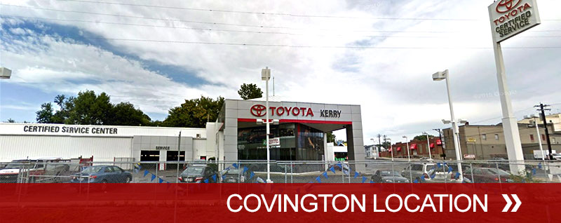 Toyota Of Covington >> Toyota Service Center Kerry Toyota Florence Ky
