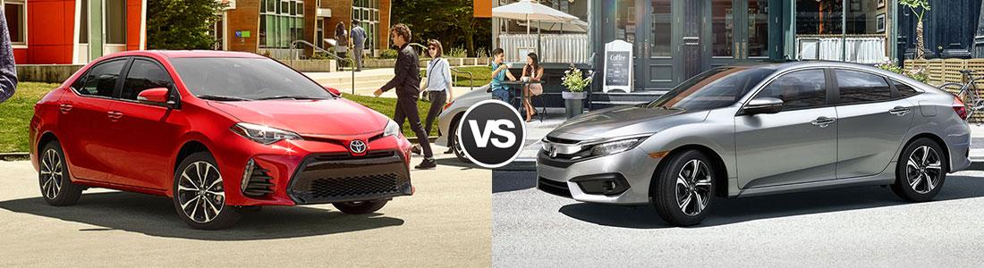 Corolla Vs Civic 2017 >> Compare 2017 Toyota Corolla Vs Honda Civic