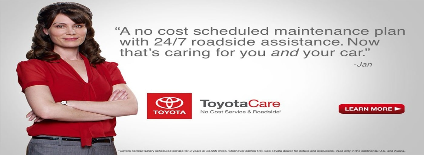 Toyotacare Roadside Assistance Number >> Toyota Care Program At Kerry Toyota Florence Ky