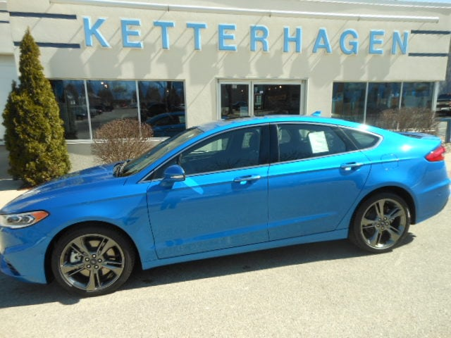 Used 2019 Ford Fusion V6 Sport Awd For Sale In Madison Wi