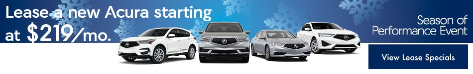 Acura Lease Special Offers in Gainesville, FL