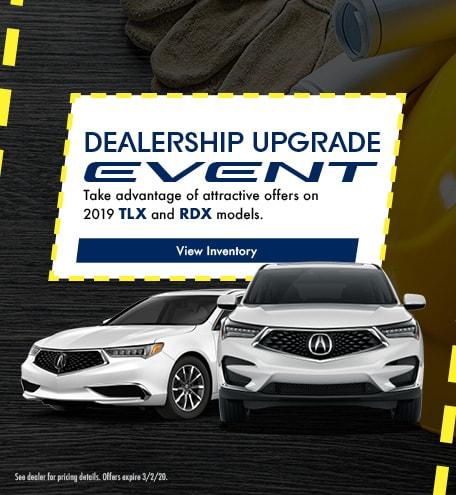 Dealership Upgrade Event