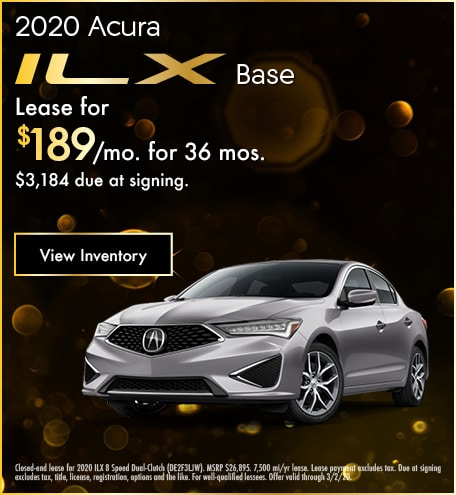 Acura ILX Lease Offer