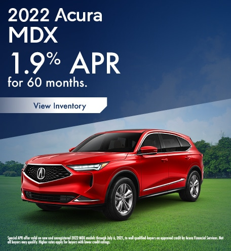 Acura MDX Finance Special Offer