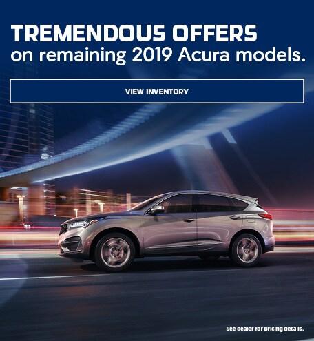 Remaining 2019 Acura Models