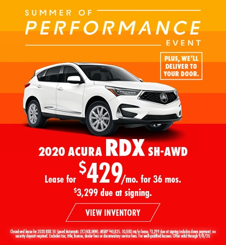 Acura RDX Lease Offer