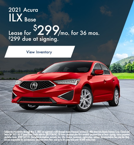 Acura ILX Lease Special Offer