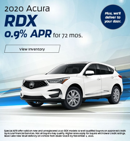 Acura RDX Finance Special Offer