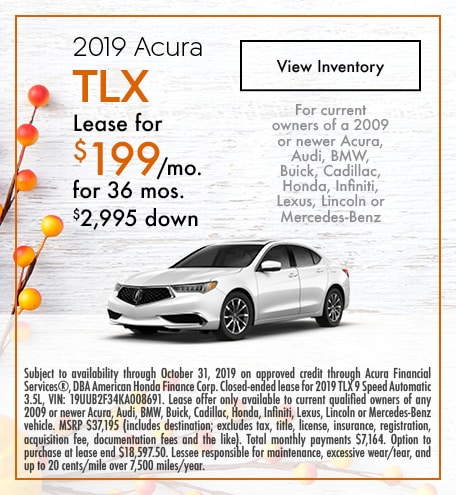 Acura TLX Lease Offer