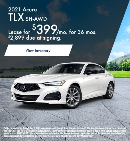 Acura TLX Lease Special Offer